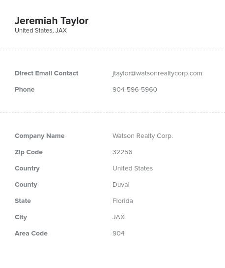 Florida Realtor Email List Real Estate Agents Bookyourdata Com